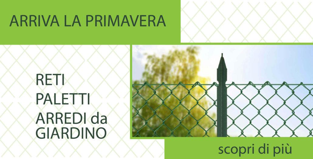 Reti per recinzioni e tutto l 39 occorrente per il tuo giardino - Recinzioni in metallo per giardino ...